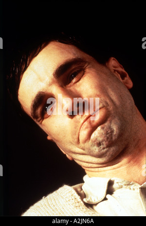 MY LEFT FOOT 1989 film with Daniel Day Lewis - Stock Photo