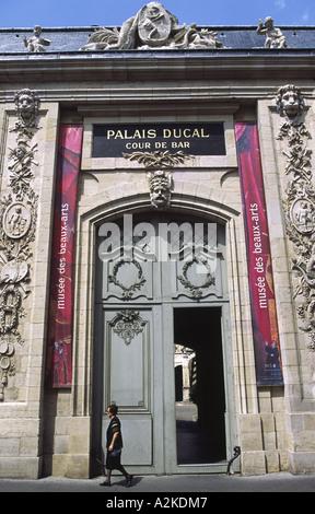 Des Beaux Arts Palais Ducal Musee Dijon Burgundy France - Stock Photo