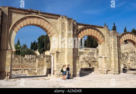 Cordoba, Spain. The ruins at Medina Azahara or Madinat al Zahra Stock Photo, ...