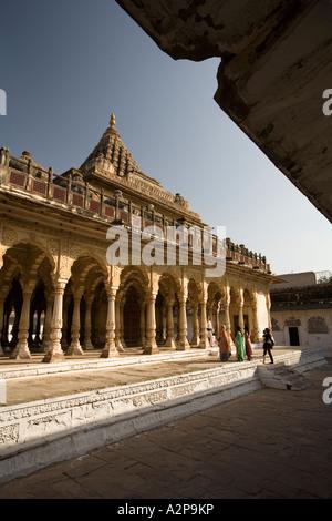 India Rajasthan Jodhpur Maha Mandir the great temple - Stock Photo