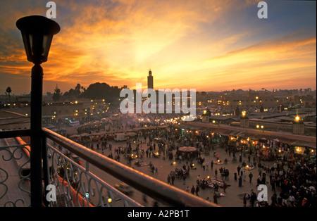 View Of The City Of Marrakech Marrakech Tensift El Haouz
