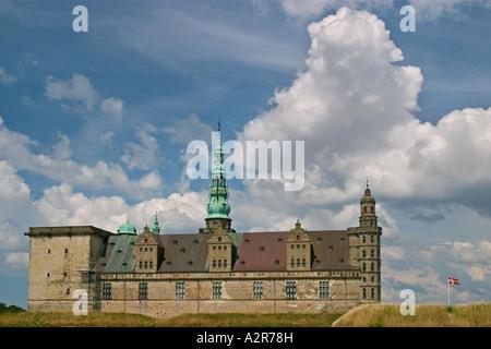 Kronborg Castle of Shalespeare s Hamlet Elsinore Denmark - Stock Photo