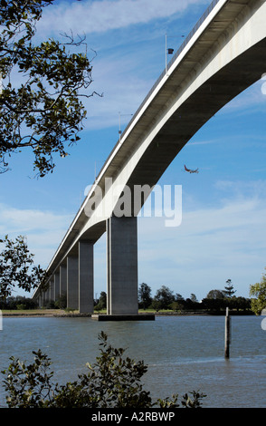 Gateway bridge Brisbane - Stock Photo