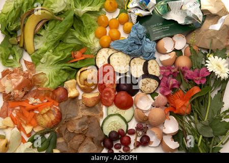 Compost ingredients - Stock Photo