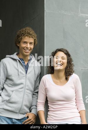 Young couple, portrait - Stock Photo