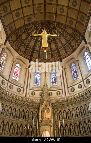 Interior of the Catholic Church of St Aloysius Gonzaga Oxford - Stock Photo
