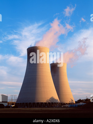 Australia. New South Wales. Bayswater. Industry. Electricity Power station cooling towers.