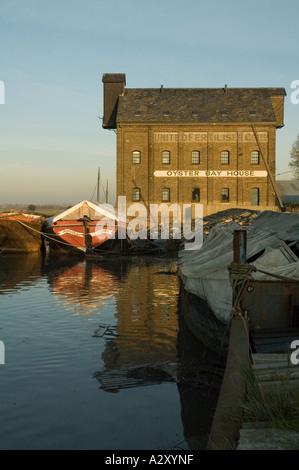 Oyster Bay House, Faversham waterfront, Kent - Stock Photo