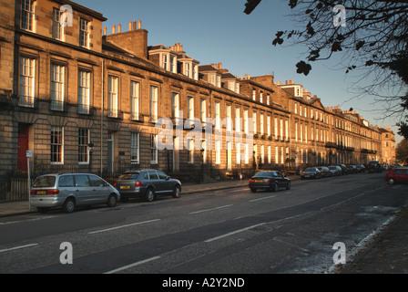 Heriot Row, New Town, Edinburgh, Scotland, UK. - Stock Photo