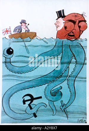 Bull Octopus - Stock Photo