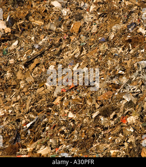 Landfill Dump With Pile Of Trash And Commercial