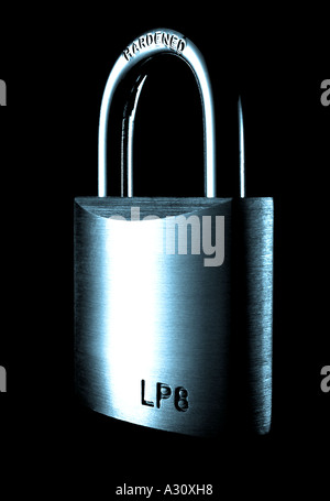 Closed Padlock. Picture by Patrick Steel patricksteel - Stock Photo