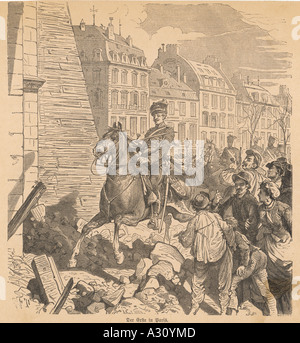 1st Prussian In Paris - Stock Photo