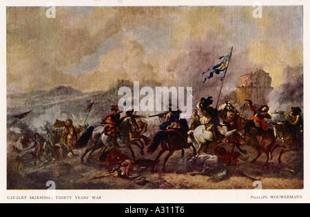 30 Years War  Cavalry - Stock Photo