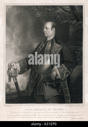 Marquis Of Granby 1 - Stock Photo