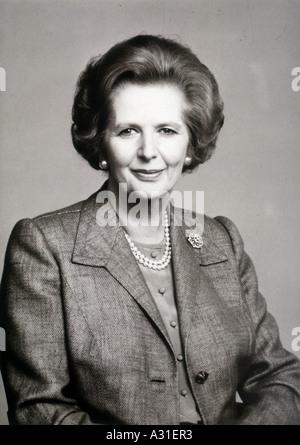 Margaret Thatcher - Stock Photo