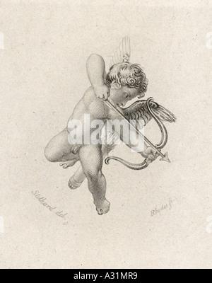 Eros Cupid Stothard - Stock Photo