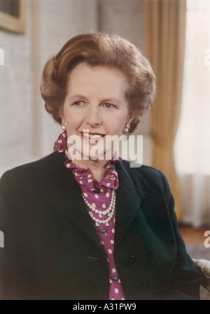 Margaret Thatcher 1925 - Stock Photo