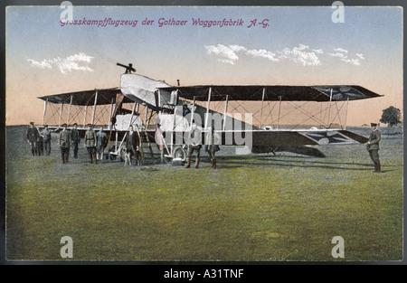 Gotha Bomber - Stock Photo