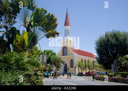 Notre Dame Catholic Cathedral Papeete French Polynesia - Stock Photo