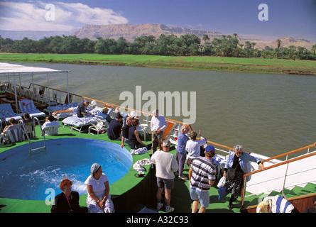 Tourist cruise boat - Stock Photo