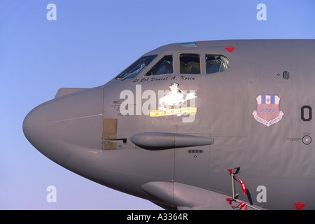Boeing B-52H Stratofortress operated by the US Air Force - Stock Photo