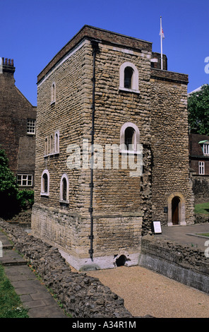 Jewel Tower, City of Westminster, London, UK - Stock Photo