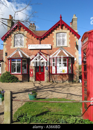 Somerleyton Village Post Office Suffolk Great Britain - Stock Photo