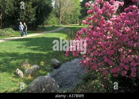 Dow Gardens Midland Michigan Stock Photo: 4977869 - Alamy