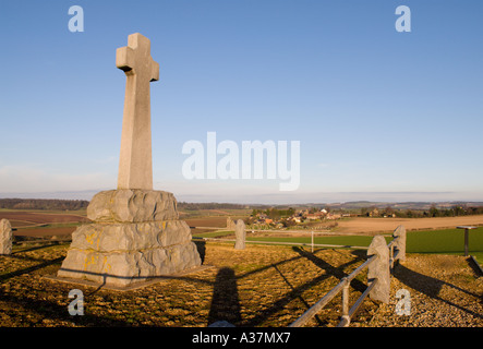 Flodden Field site of the defeat of Scots by English 1513 Northumberland near Branxton heritage trail opened 2004 - Stock Photo