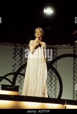 PETULA CLARK   UK singer about 1970 - Stock Photo