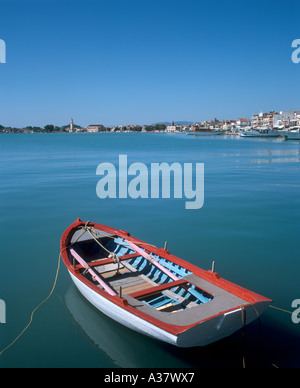 View over the harbour, Zakynthos Town, Zakynthos (Zante), Ionian Islands, Greece - Stock Photo