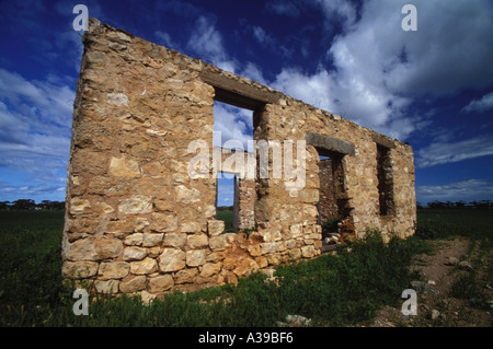 ruined home 0226 - Stock Photo