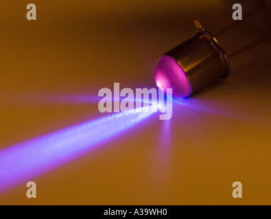 ultraviolet light emitting diode - Stock Photo