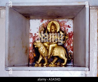 Amritsar India Langa Wali Devi Durga (hindu) - Stock Photo