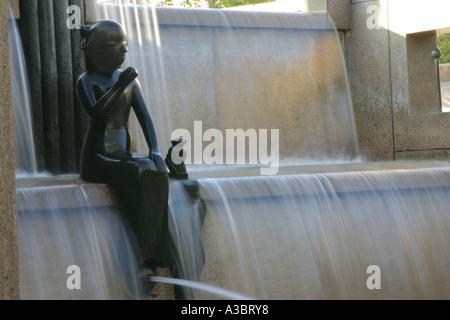 A fountain in the Zoologischer Garten, Berlin - Stock Photo