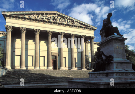 The National Museum in Budapest, Hungary - Stock Photo