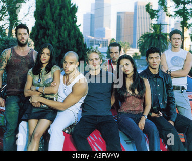 2 FAST 2 FURIOUS Universal 2003 film  about street racers - Stock Photo