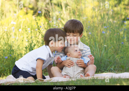 Three Brothers Outdoors Stock Photo