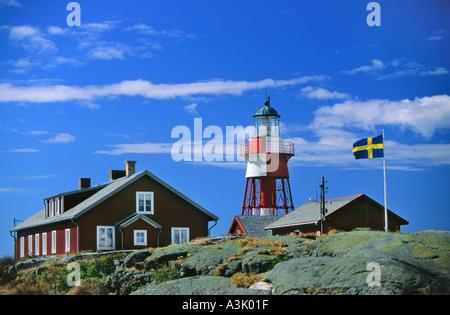 Lighthouse Måsekärr - Stock Photo