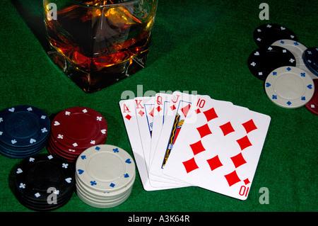 Poker same suit