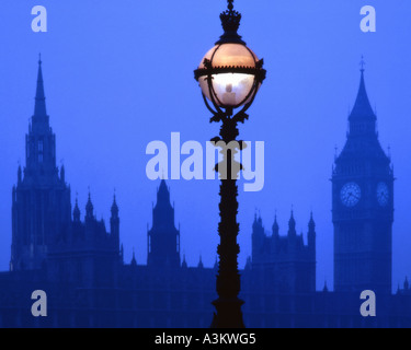 GB - LONDON:  Westminster and Big Ben at night - Stock Photo