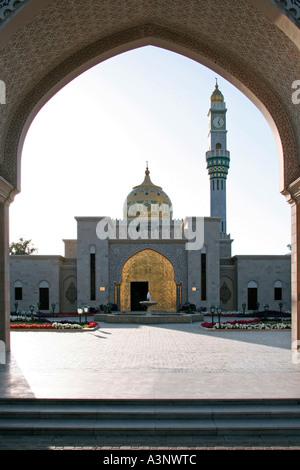Oman Zawawi Mosque in Muscat - Stock Photo