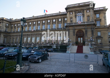 Palace of the Quai d Orsay home of the French ministry of Foreign Affairs in Paris France February 2004 - Stock Photo