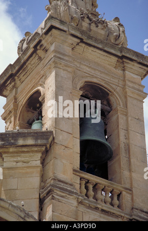Church Valleta Malta Valletta - Stock Photo