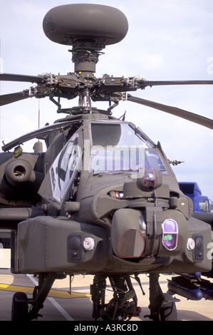 McDonnell Douglas now Boeing AH 64A Apache - Stock Photo