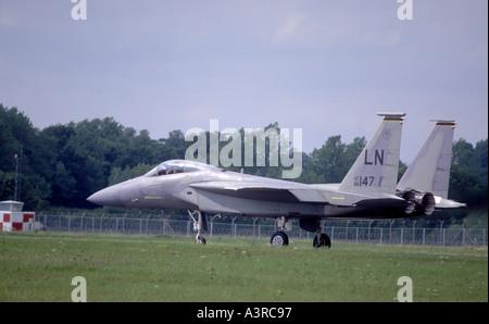 McDonnell Douglas F15 Eagle Air superiority fighter Jet.   GAV 1099-38 - Stock Photo