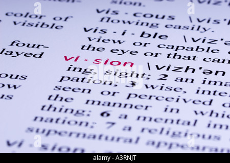 Fake Dictionary, definition of the word life Stock Photo