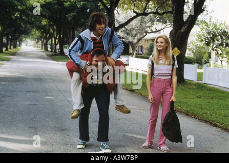 THERE'S SOMETHING ABOUT MARY 1998 TCF film with Cameron Diaz and Ben Stiller getting a ride - Stock Photo