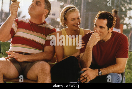 THERE'S SOMETHING ABOUT MARY 1998 TCF film with Cameron Diaz and Ben Stiller (at right) - Stock Photo